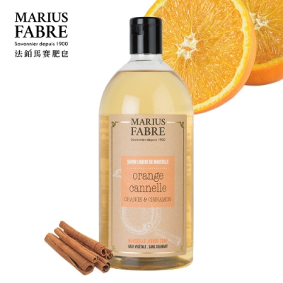 法國法鉑-甜橙草本液體皂-1000ml-瓶