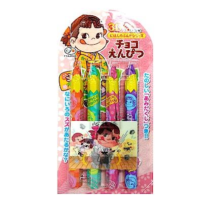 日本不二家可可鉛筆糖27g