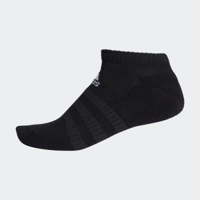 ADIDAS 訓練 運動 腳踝襪 3雙入 黑 DZ9389 CUSHIONED LOW-CUT SOCKS
