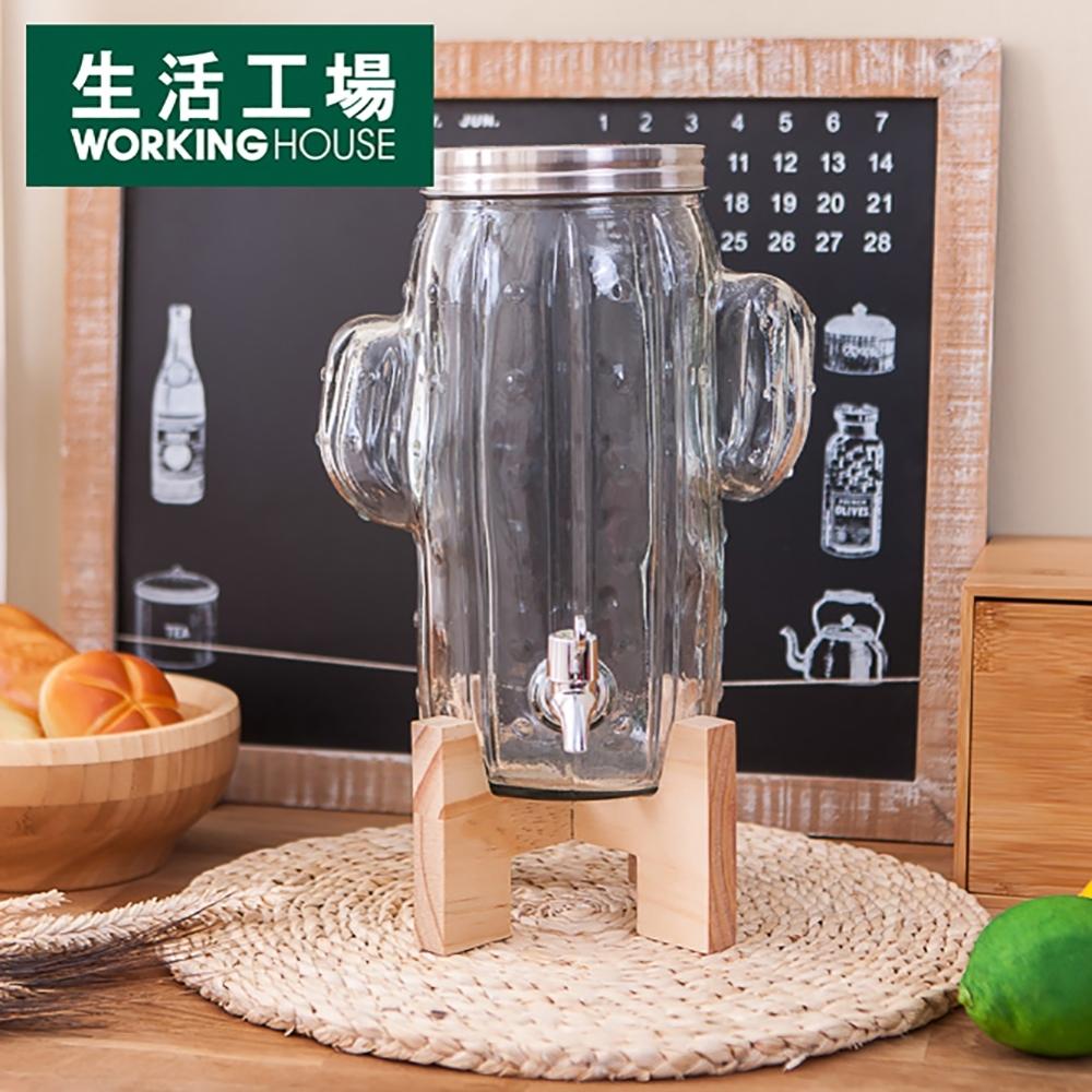 【生活工場】*仙人掌飲料罐4L