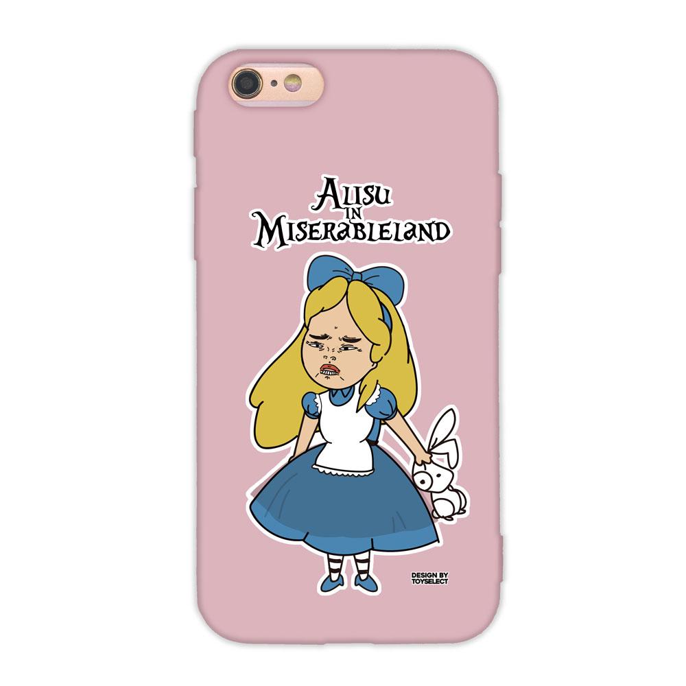 【TOYSELECT】iPhone 7/8 經典崩壞設計師手機殼:她不是愛麗絲