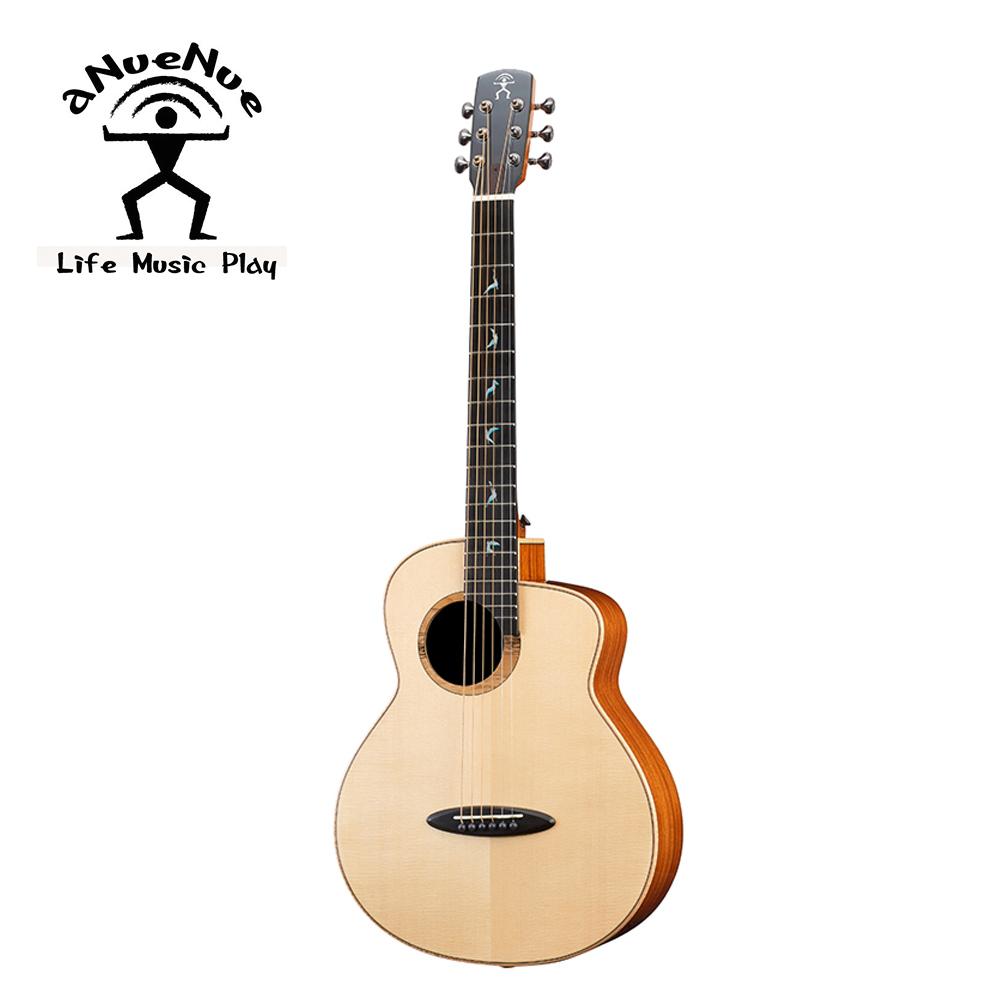 aNueNue MB100EWT 飛鳥 全單電木吉他 月亮雲杉非洲桃花心木