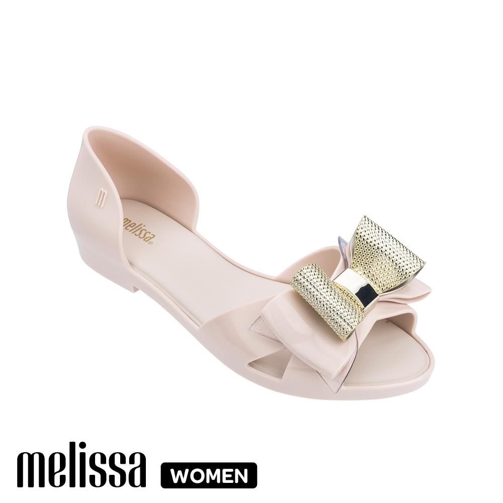 Melissa 蝴蝶結造型涼鞋-白