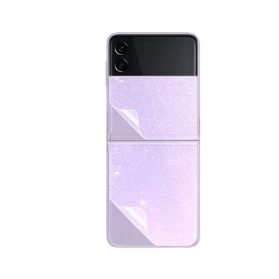 o-one大螢膜PRO 三星SAMSUNG Galaxy Z Flip 3 5G 滿版手機背面保護貼-鑽石款