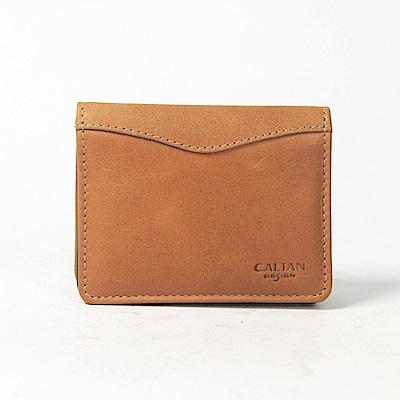 CALTAN-橫式名片夾 卡片夾 真皮小物 牛皮 生日禮物 畢業禮-1807ht