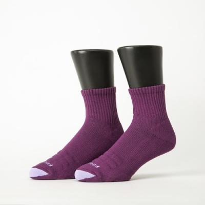 Footer除臭襪-螺旋氣墊輕壓力襪-六雙入(藍色*2+綠色*2+紫色*2)