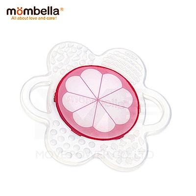 【任選】英國《mombella 》小花咬水果固齒器(山竹)