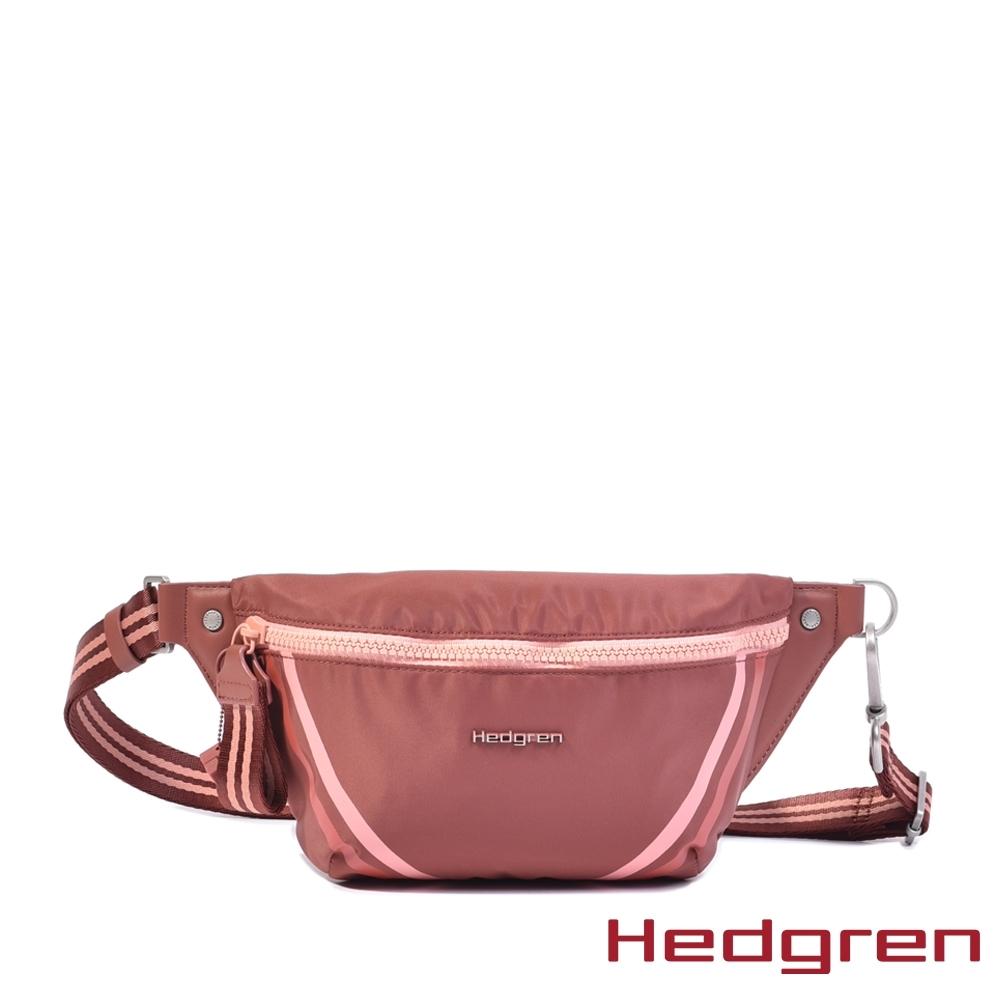【Hedgren】磚紅運動休閒腰包 – HBOO 01 UP