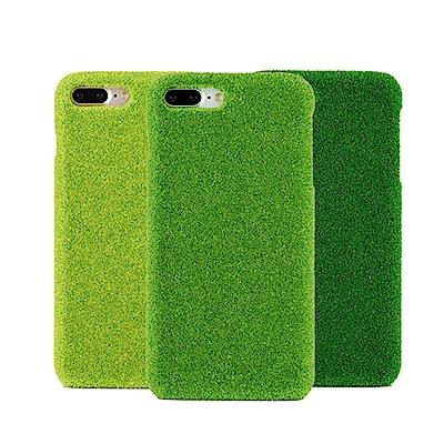 Shibaful iPhone 8/7/6S+ 5.5吋 公園 草皮硬殼