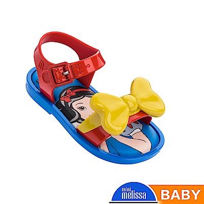 Melissa 白雪公主蝴蝶結造型涼鞋-寶寶款-撞色