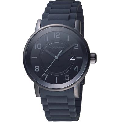 WENGER Attitude 駭客任務時尚腕錶(01.0341.112)43mm