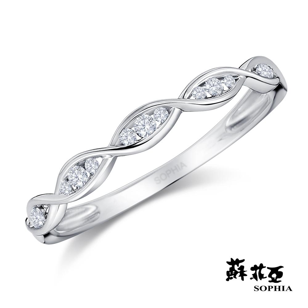 蘇菲亞SOPHIA - 赫拉0.09克拉 18K鑽石戒指