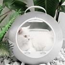 JohoE嚴選 泡泡球時尚透明寵物提籠