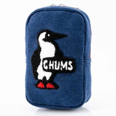 CHUMS Vertical Pouch Sweat 收納包 深藍 CH602809N018