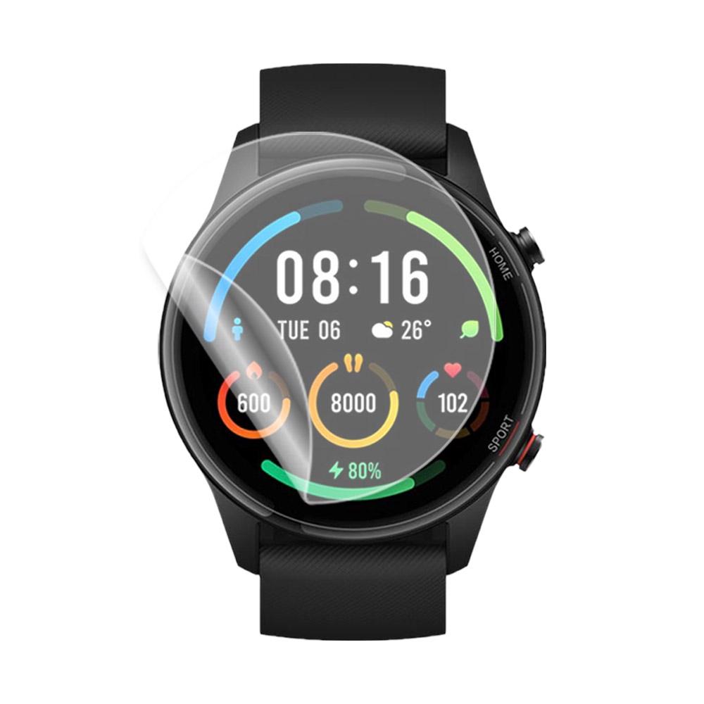 o-one小螢膜 XiaoMi小米手錶Color運動版 手錶保護貼兩入組 犀牛皮防護膜 抗衝擊自動修復