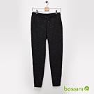 bossini男裝-束口針織棉褲02黑