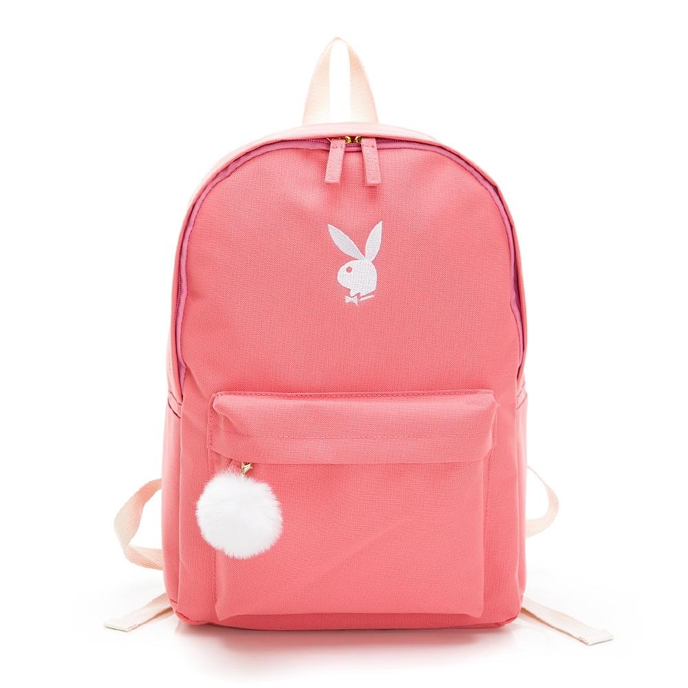 PLAYBOY- 後背包 Bunny兔系列-粉色