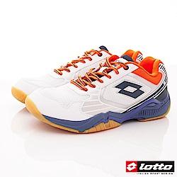 Lotto樂得-阿波羅專業羽球鞋-SI909白藍(男段)