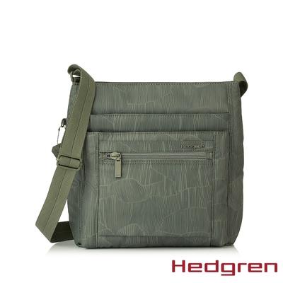 Hedgren INNER CITY四層收納 側背包 竹葉綠