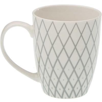 《VERSA》瓷製馬克杯(菱紋350ml)