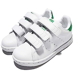 adidas 休閒鞋 STAN SMITH 童鞋