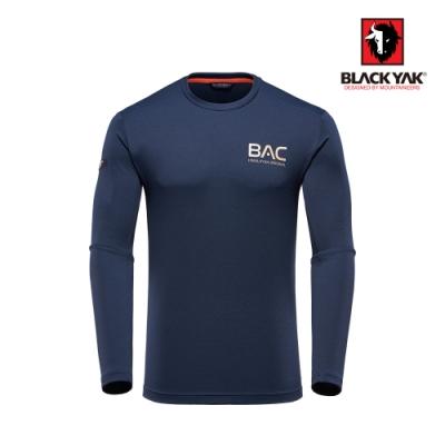 【BLACK YAK】BAC男吸排長袖上衣 [海軍藍]