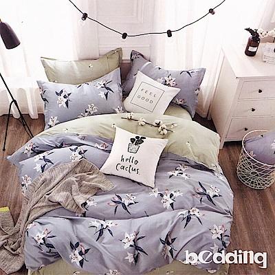 BEDDING-100%棉6尺加大雙人薄式床包三件組-歡騰
