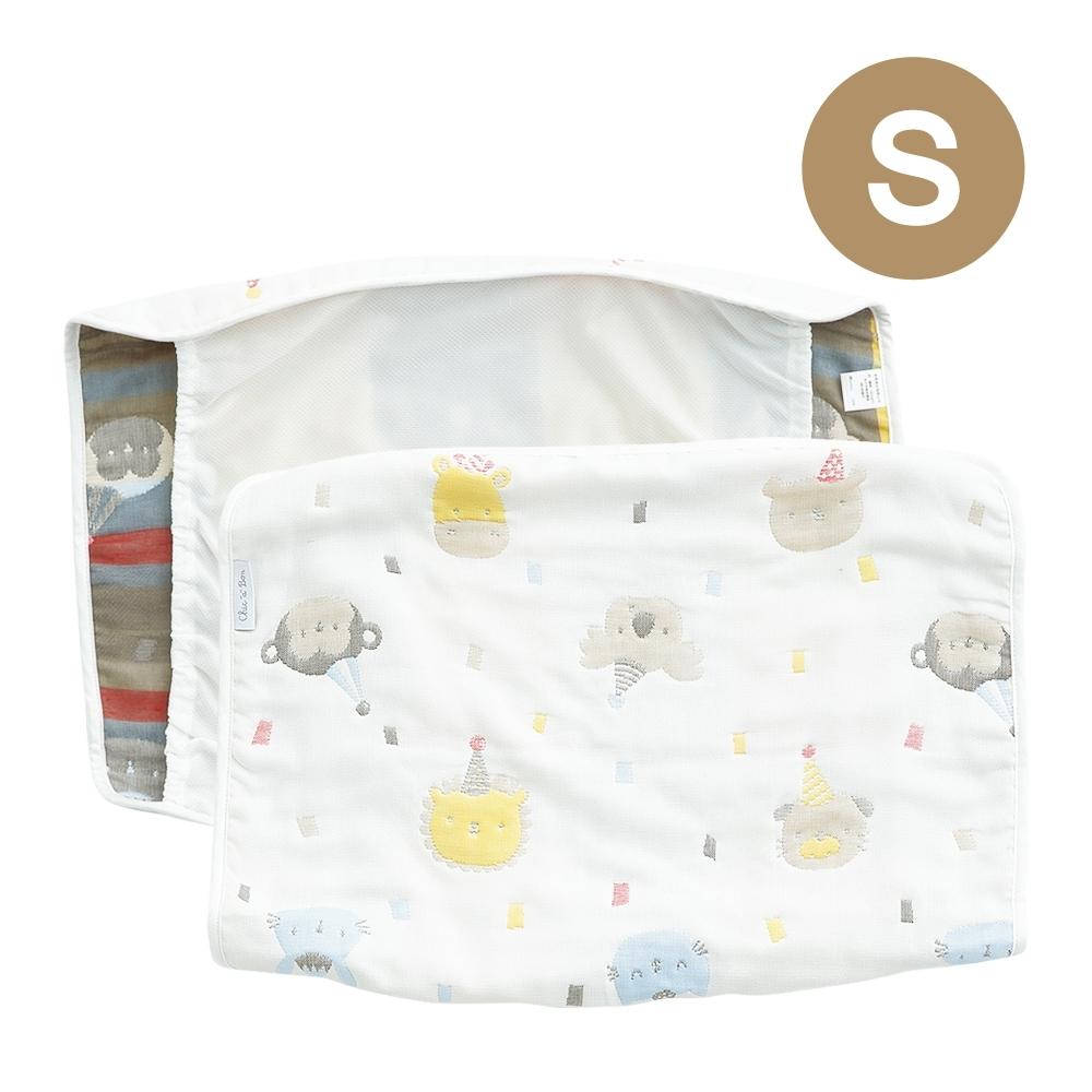 奇哥 動物派對六層紗小枕巾