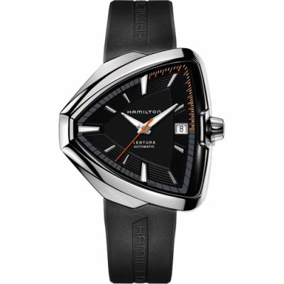 Hamilton 漢米爾頓 VENTURA Elvis 貓王80週年機械錶 H24555331