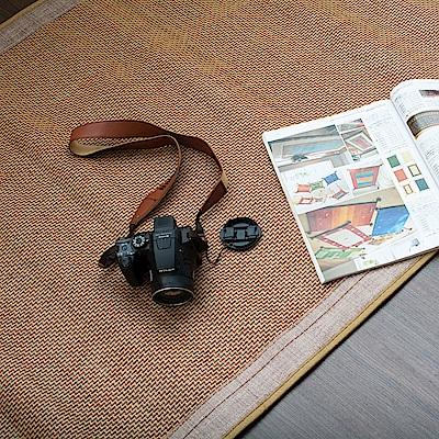 戀戀鄉 (單人3X6尺)夏沐沁涼木紋單人竹蓆(1入)涼蓆 涼墊 蓆墊