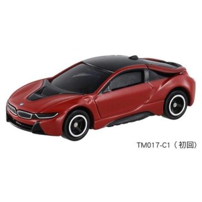 TOMICA NO.017 BMW i8跑車_TM017A4多美小汽車