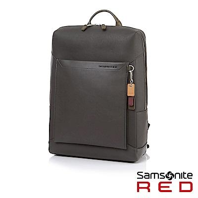 Samsonite RED BRISY 中性時尚吊飾筆電後背包L 15.6 (深灰)
