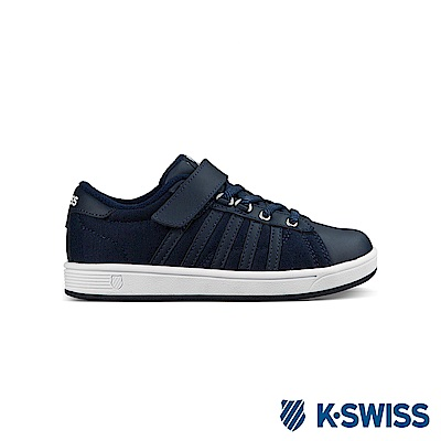 K-Swiss Hoke T VLC休閒運動鞋-童-深藍/白