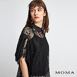 MOMA 前短後長蕾絲上衣