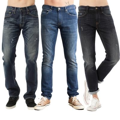 【時時樂限定】LEE 經典男款牛仔褲-五款選