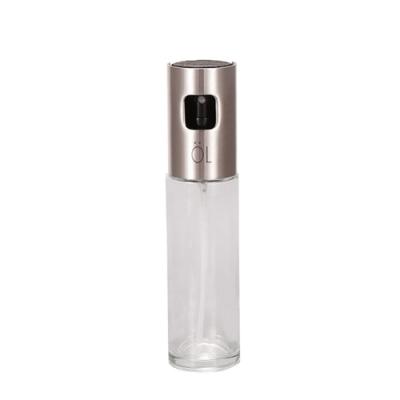 Time Leisure 不鏽鋼按壓頭透明噴油瓶/調味噴霧瓶