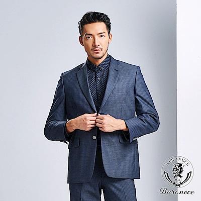 BARONECE 低調商務純羊毛西裝(618308-09)