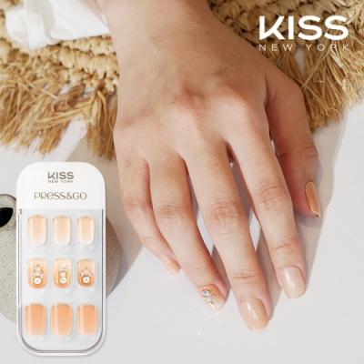 KISS New York-Press&Go頂級光療指甲貼片(不願讓你一個人 KPNA30K)