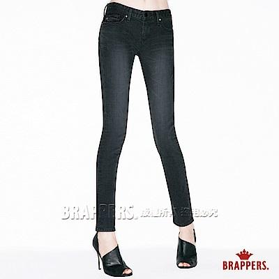 BRAPPERS 女款 新美腳ROYAL系列-彈性窄管褲-黑灰
