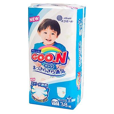 GOO.N日本大王 男用褲型紙尿褲 境內版 XL 38片x3包/箱