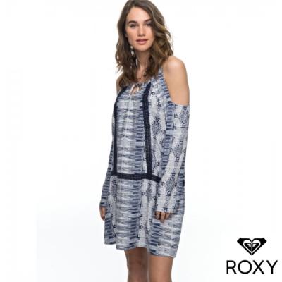 【ROXY】LIVE LOUDLY 洋裝 海軍藍