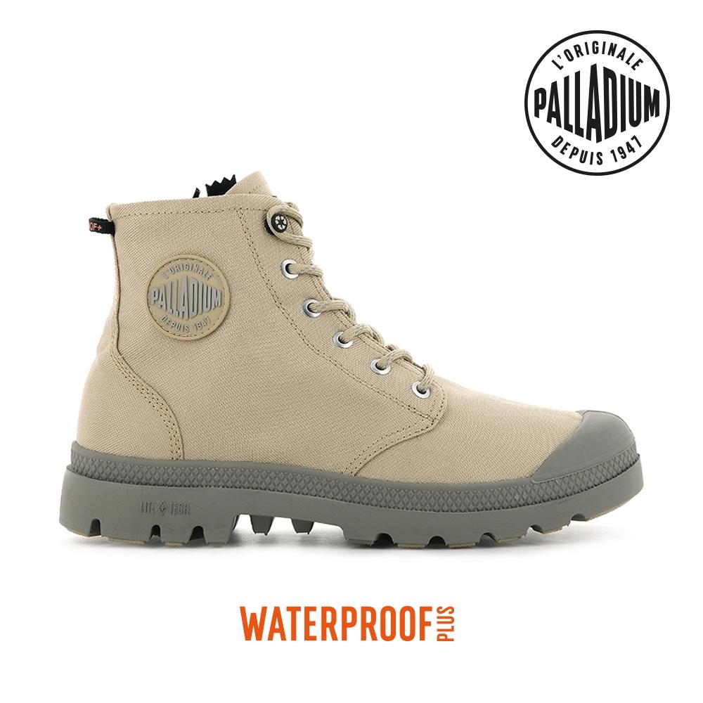 PALLADIUM PAMPA RCYCL LT+ WP+Z再生科技輕量拉鍊防水靴-中性-沙漠金