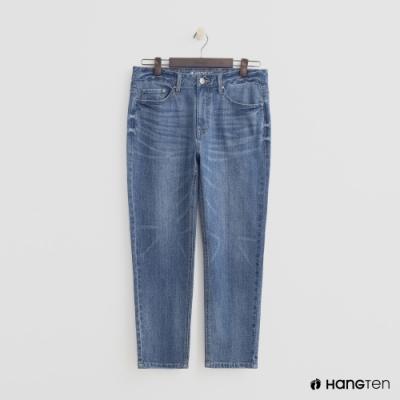 Hang Ten - 男裝 - 復古刷色彈性牛仔褲-藍
