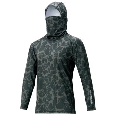 【SHIMANO】長袖全罩內搭衫 迷彩系列 SUN PROTECTION IN-063T