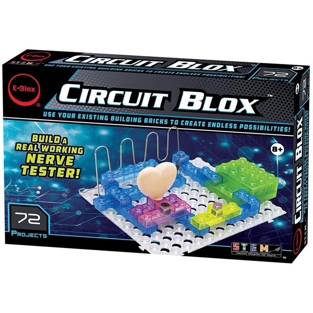 任選美國E-Blox 全能益智聲光積木-變化72