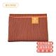 【台灣製造】USHAS 竹炭纖維止滑瑜伽墊鋪巾 橙 PER-1333OG product thumbnail 2