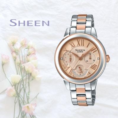 CASIO卡西歐 簡約時尚腕錶(SHE-3059SPG-9A)