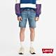 Levis 男款 修身版牛仔短褲 復古水洗工藝 天絲棉 彈性布料 product thumbnail 1
