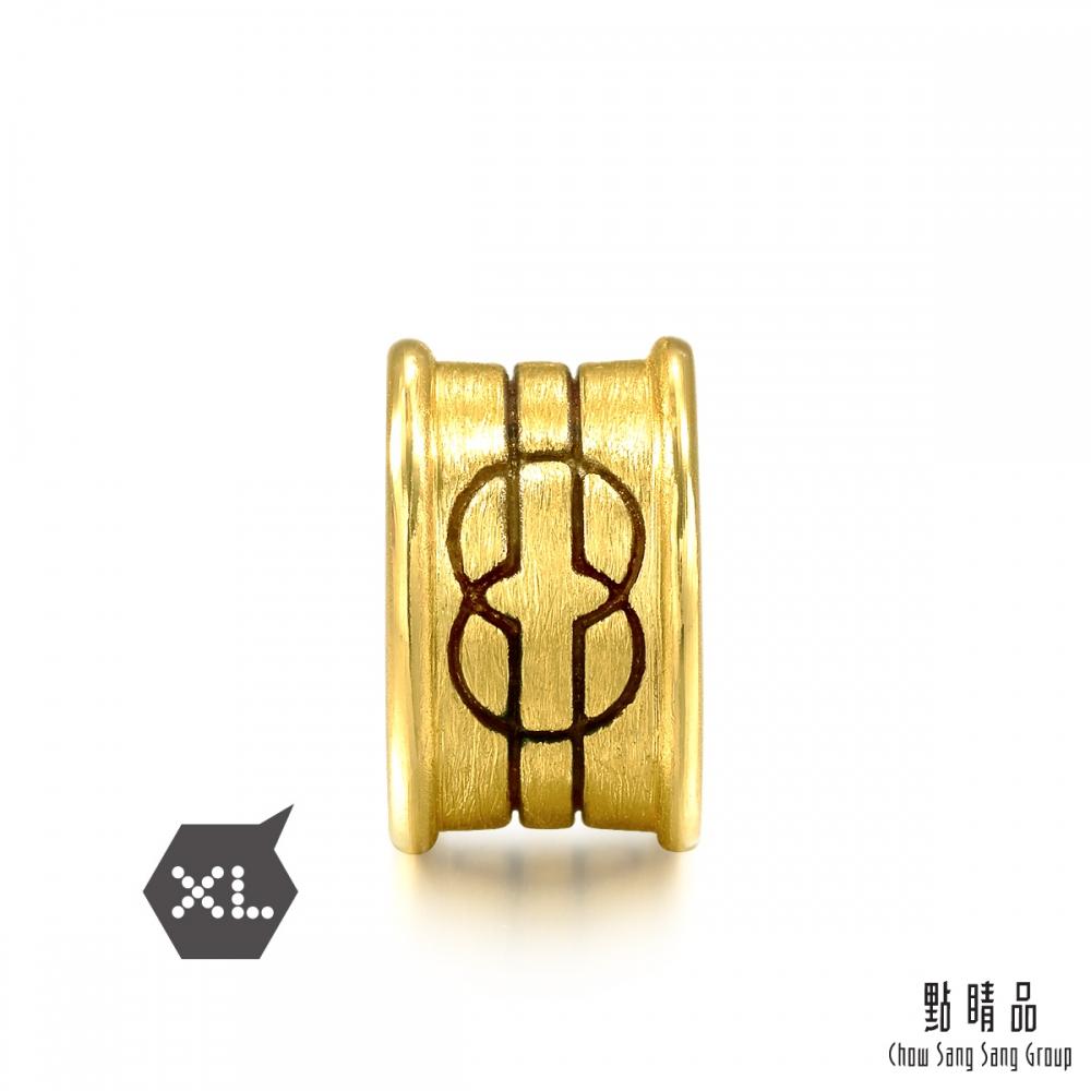 點睛品 Charme XL 酷黑系列 智慧 黃金串珠