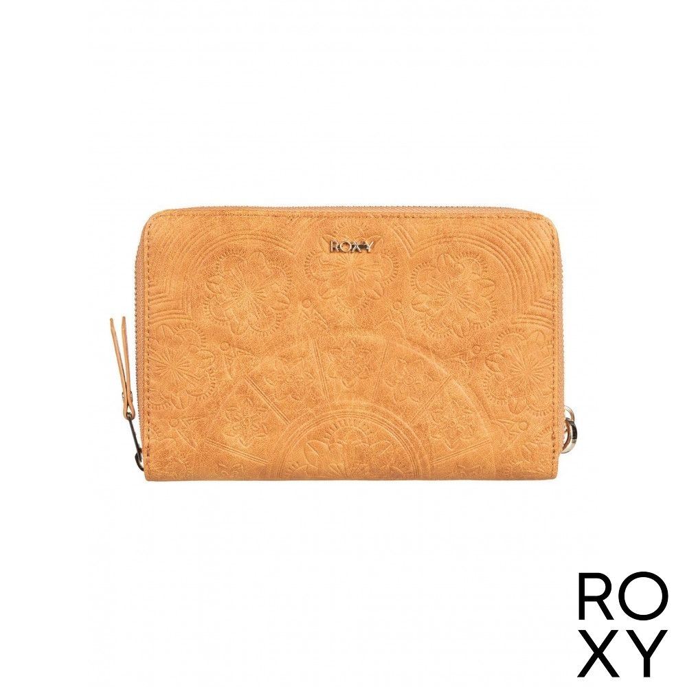【ROXY】BACK IN BROOKLYN 皮夾 卡其 product image 1